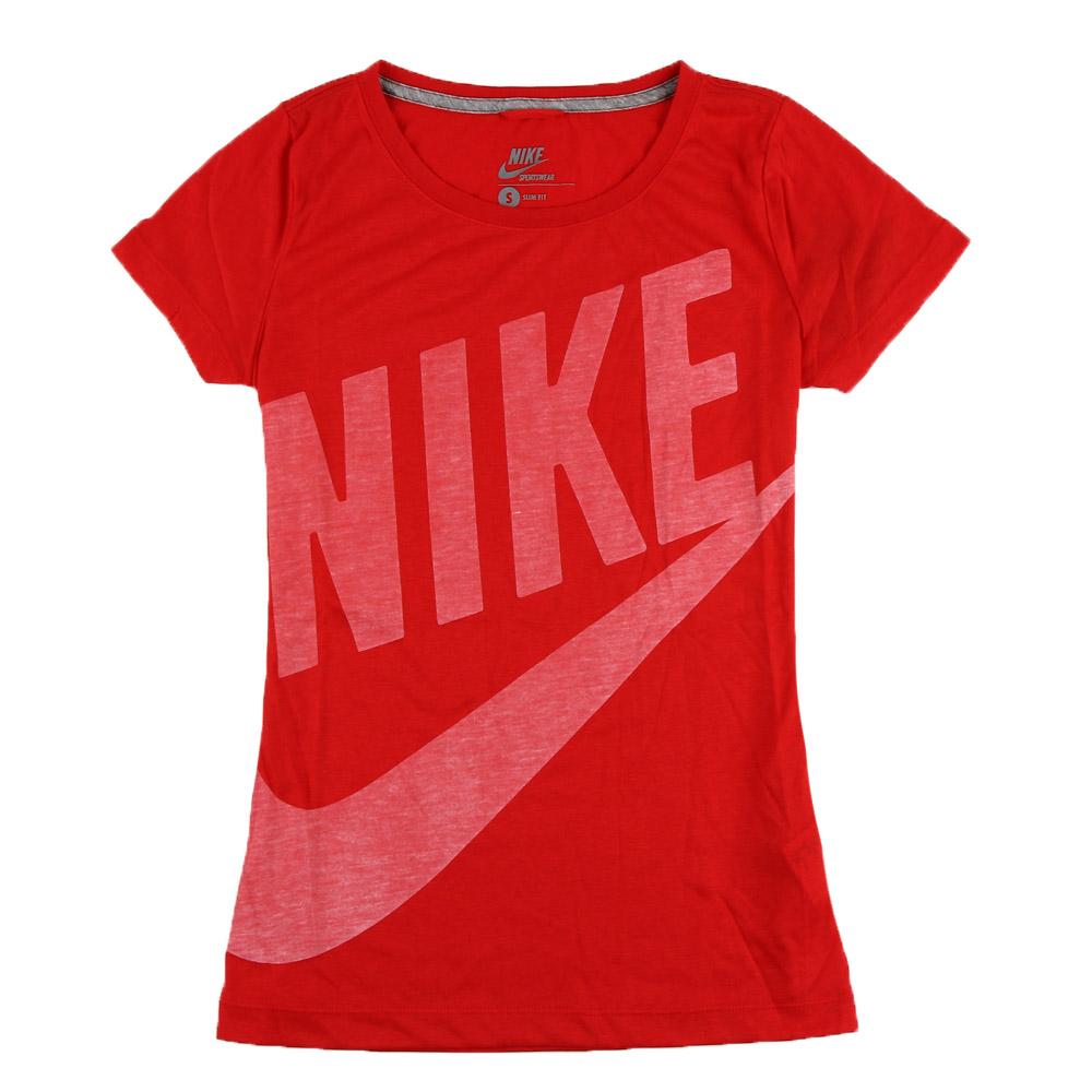 耐克nike女装袖t恤-484705-604