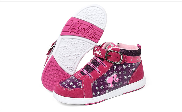 芭比童鞋女童运动鞋